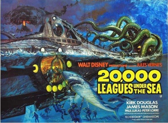 Contratar 20.000 Leguas De Viaje Submarino En 3D (011) 47404843 Onnix Entretenimientos