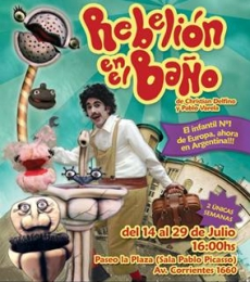 Contratar Rebelion En El Baño (011) 4740-4843 Onnix Entretenimientos