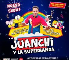 Juanchi Y La Super Banda Contratar Christian Manzanelli Representante Artistico9